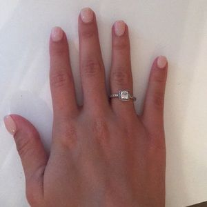 Silver Timeless Elegance ring from Pandora Size 5